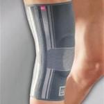 Medi Genumedi SİLVER,patelle destekli fleksble bolenli örme dizlik