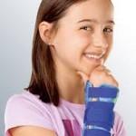 Statik el bilek splinti  çocuk   manumed kidz